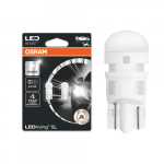 501 OSRAM LEDriving SL Range (W5W) LED Upgrade Bulbs (Red) - Pair