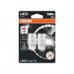 582 OSRAM LEDriving SL Range (W21W) LED Upgrade Bulbs (Red) - Pair