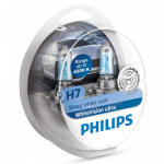 H7 Philips WhiteVision Ultra 12V 55W Halogen Bulbs (Pair)