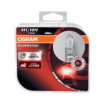 H1 OSRAM Silverstar 2.0 12V 55W 448 Halogen Bulbs (Pair)