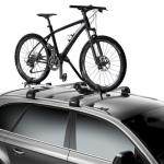 Thule ProRide Bike Rack in Silver (Roof Mounted)