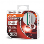 D3S OSRAM Night Breaker Laser Xenarc +200% Bulbs - Next Generation (Pair)