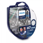 H7 Philips RacingVision GT200 12V 55W Halogen Bulbs (Pair)