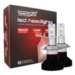 HB3 Twenty20 LED 12V Headlight Bulbs (Pair)