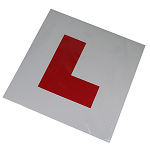 Fully Magnetic 'L' Plates (Pack of 2)