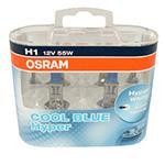 H1 OSRAM Cool Blue Hyper 12V 55W 448 Halogen Bulbs (Pair)