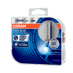 D2S OSRAM Cool Blue Boost Xenarc 35W 7000K Xenon HID Bulbs (Pair)