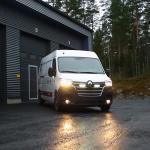 Renault Master (2020+) Grille Mount Kit | Lazer Lamps