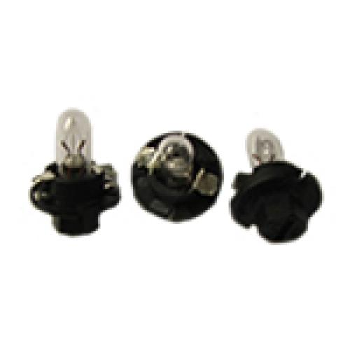 R509TMBK Dashboard Bulbs 12V 1.2W (Black)
