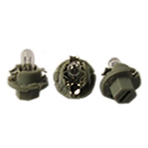 R509TMGY Dashboard Bulbs 12V 0.5W (Grey)
