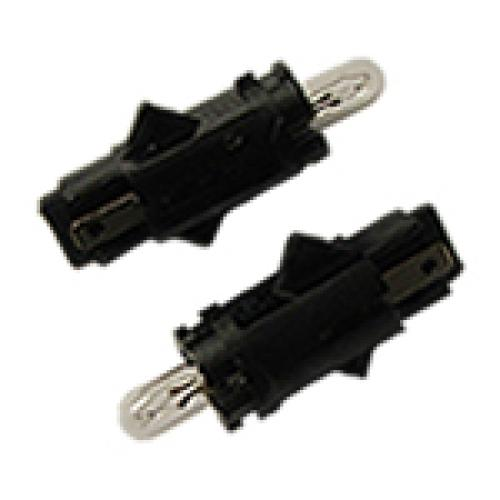 R509TLBK Dashboard Bulbs 12V 1.2W (PCB Black Long)