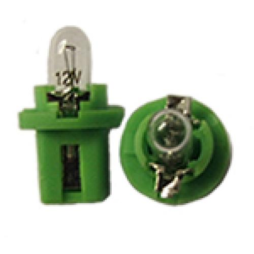 R509TGR Dashboard Bulbs 12V 2W (PCB Light Green Base)