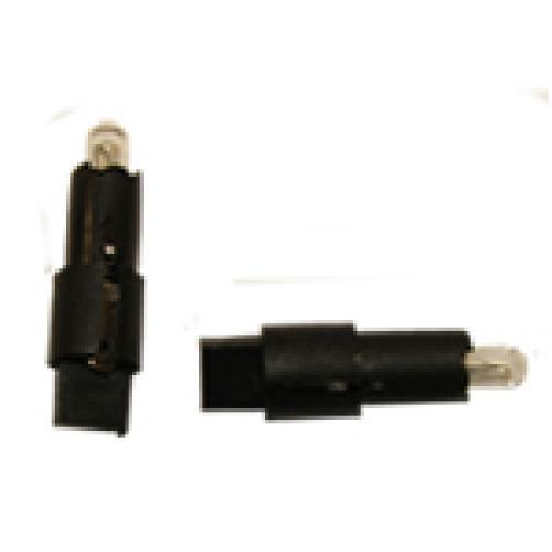 R509TPBK SG8-5.5D  Panel Bulb 12V 1.2W Black