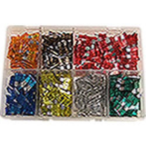 Mix pack of 300 Plug-in Spade fuses