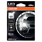 264 Osram Long Life LED Retrofit Cool White 12V C5W 42mm Festoon Bulb