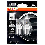 382 Osram Long Life LED Retrofit White 12V P21W Bayonet Bulb