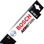 "Bosch Aerotwin AR608S Washer Jet Wiper Blades Jaguar S-type 24/19"" (600/475mm)"
