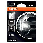 239 Osram Long Life LED Retrofit Cool White 12V C5W 36mm Festoon Bulb