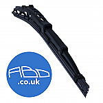 "ABD Wiper blade 20"" Universal Spoiler Blade fitted with quick fit adaptor"