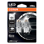 582 Osram Long Life LED Retrofit White 12V 7440 W21W Wedge Bulb