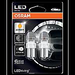 581 Osram Long Life LED Retrofit Amber 12V PY21W Bayonet Bulb