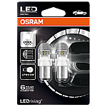 380 Osram Long Life LED Retrofit Cool White 12V P21/5W Bayonet Bulb