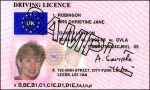 UK Driving Licence (Sample)